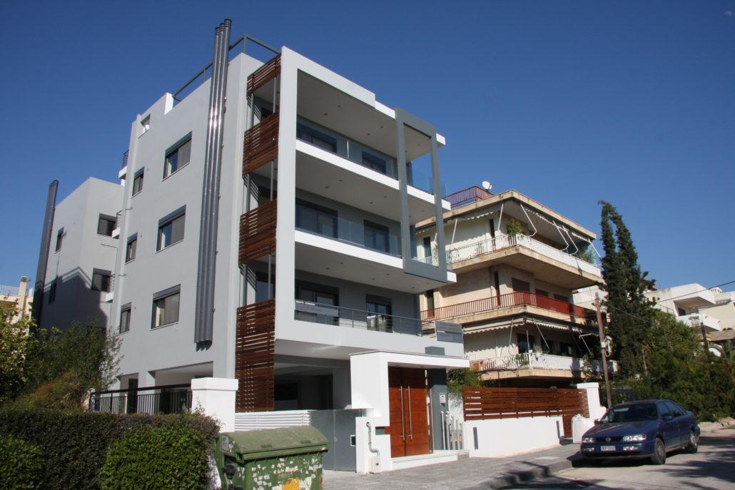 Residential apartments, in Glyfada, Athens, Greece - Arki Topo
