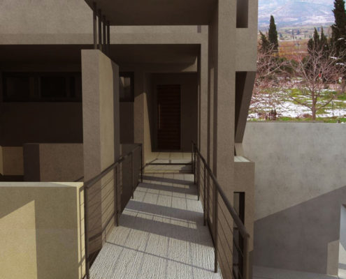 Arki Topo - Architecture & Topography - Conversion of existing residence to a guesthouse
