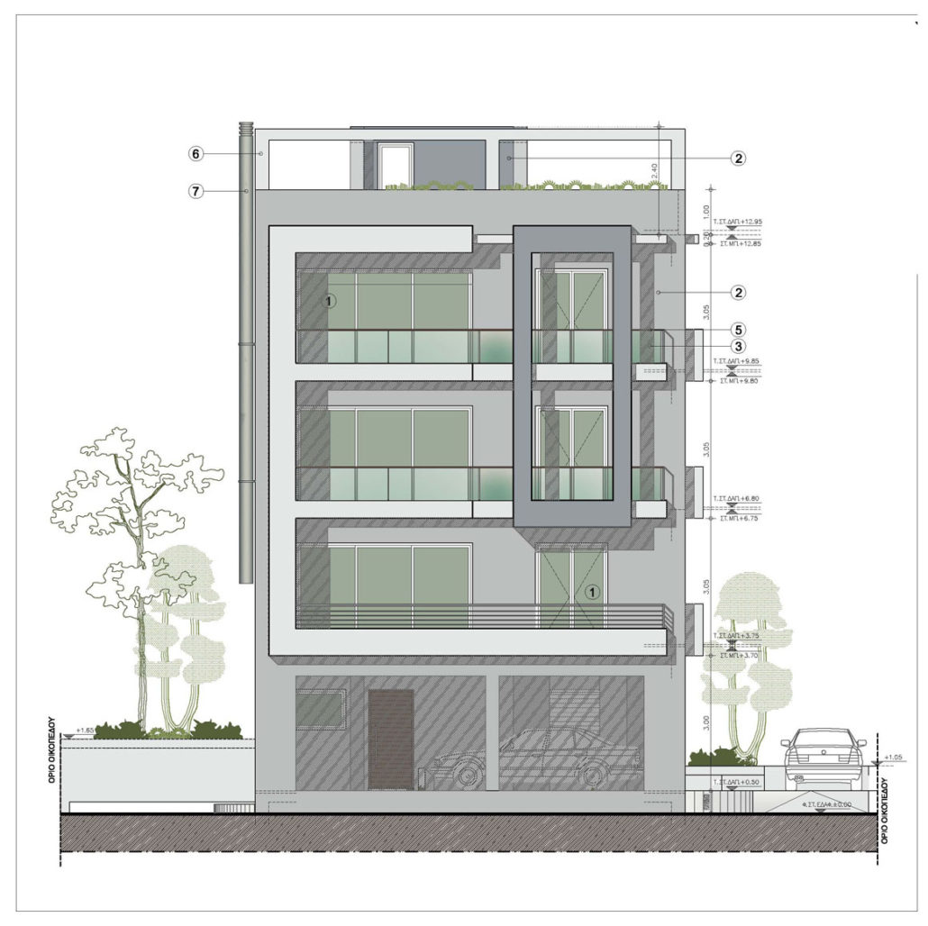 Residential Apartments, In Glyfada, Athens, Greece