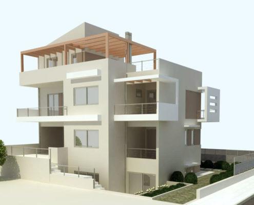 Arki Topo - Architecture & Topography - New House in Lykovrysi, Attiki