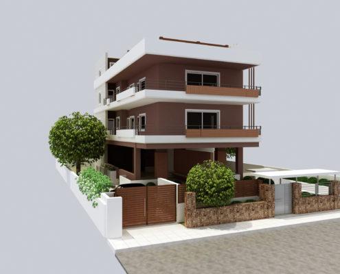 Arki Topo - Architecture & Topography - House facade remodel, Kifissia, Attiki