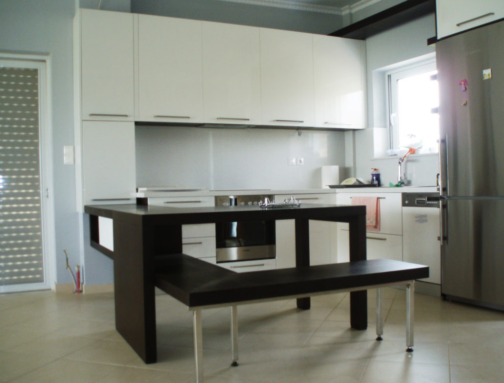 greece arki topo architecture topography kitchen design for an apartment kalamata greece - Kitchen Design Greece