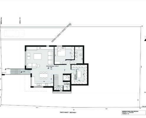 Arki Topo - Architecture & Topography - New house with a pool in Penteli, Attiki