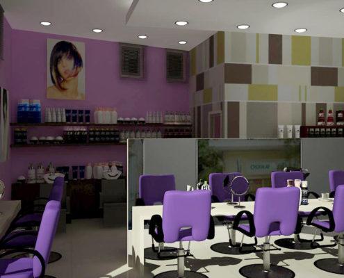 Arki Topo – Architecture & Topography - Hair-salon design Neo Hrakleio, Attiki, Greece